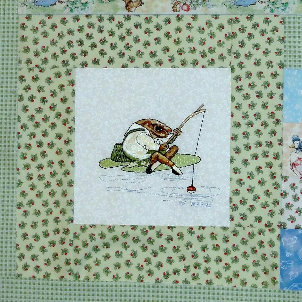 Teddy WIP quilt