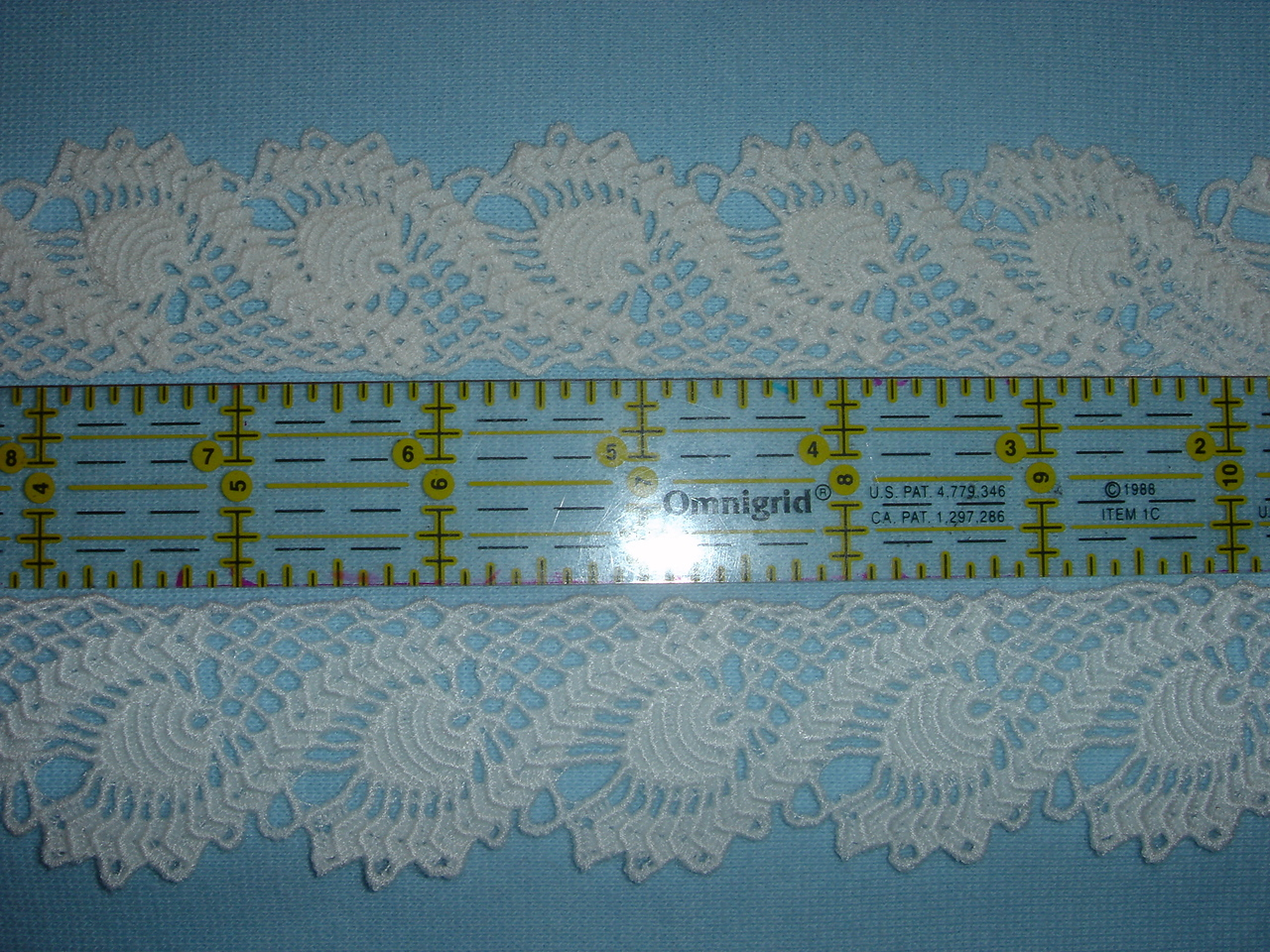 Marie's Pineapple Lace Edging