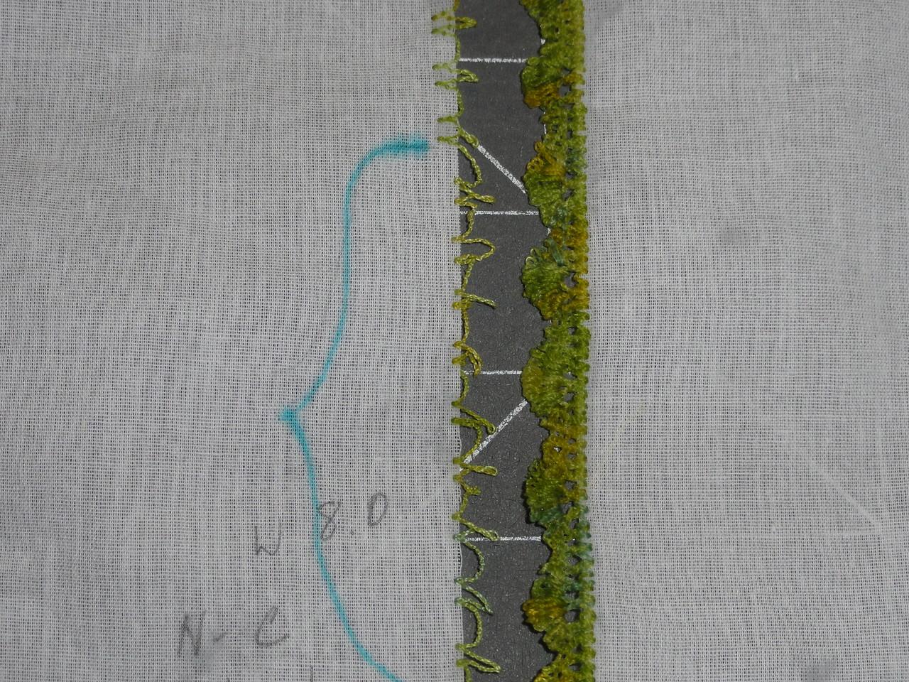 Bernina 830 stitches 733 and multi (right)