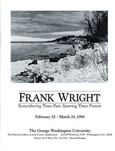 Frank Wright Remembering Times Past p3