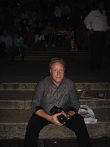 Spanish Steps at night  Rome, Italy 2007