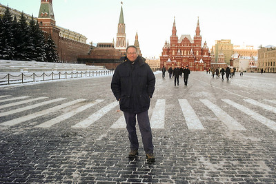Brad in Red Square