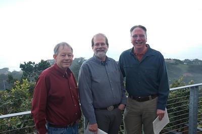 Brad with John Sexton and Charles Cramer