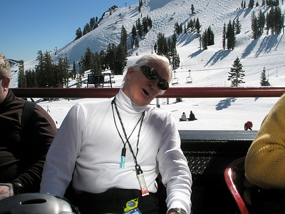 At Squaw Valley Ski Area.  Must be nap time.  Feb 2008