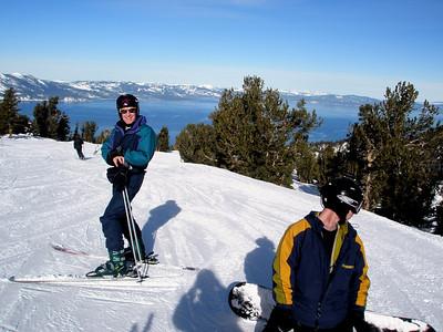 At Lake Tahoe...Feb 2008