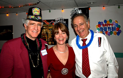 Kevin, Lisa and Jerry - New Year's Eve 2008