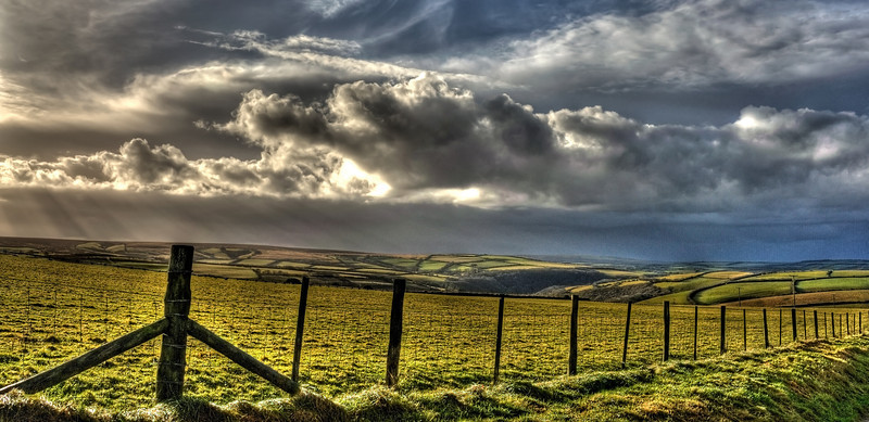 View from A39, Exmoor National Park