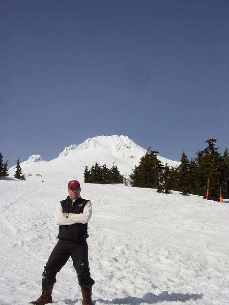 Rob at Timberline Lodge Oregon
