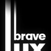 BRAVE LUX -- SIMPLE black and white  8 02 11