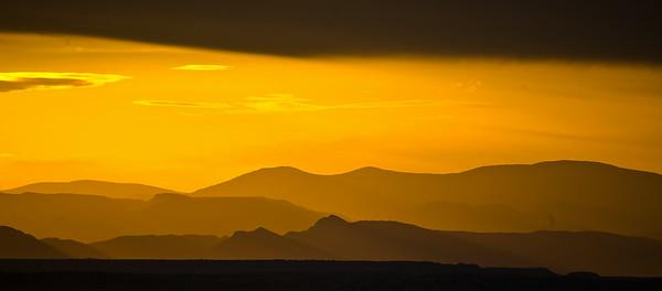 Summer Sunset Pueblo Lake (1 of 1)