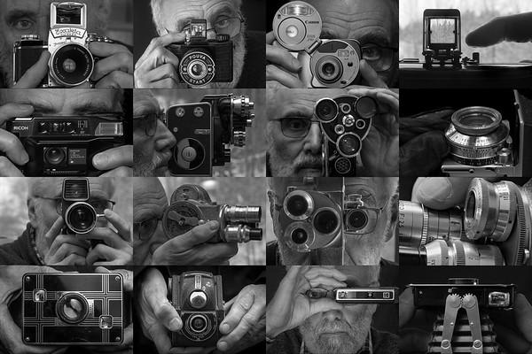 Cameras in use