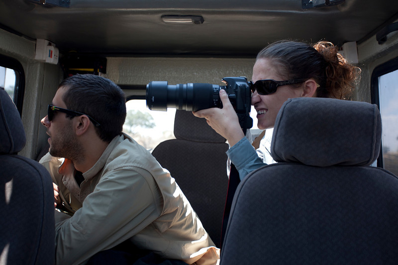 Shooting in the Serengeti National Park, Tanzania, Africa. August 2011.<br /> <br /> Image by Wesley D. Bernard