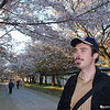 Admiring the Sakura - A Spring Portrait.<br /> Photo by Ritsuko.