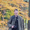 An Autumn Portrait.<br /> At the Imperial Palace Park in Kyoto.<br /> By my wife Ritsuko with her Panasonic LUMIX DMC-S1.
