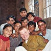 Visit with Bengali school in New Delhi, 2003