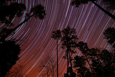 206 minute star trail compilation.