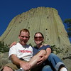 My Lovely Wife and I at Devil's Tower, 2007