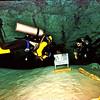 *Danger! Cave divers