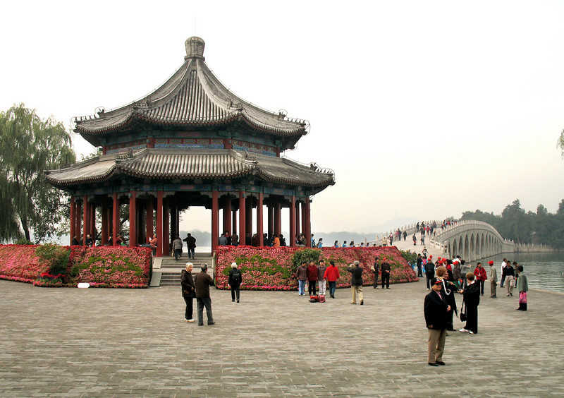 the grounds of the Summer Palace, Beijing