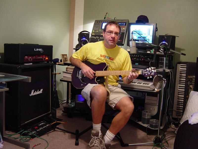 The original Looking West Music Studios...circa 2005