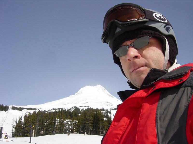 Rob at Mt Hood Oregon
