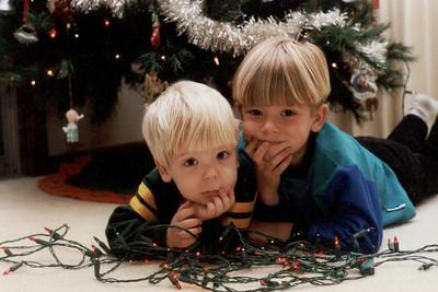 Christmas card 2001