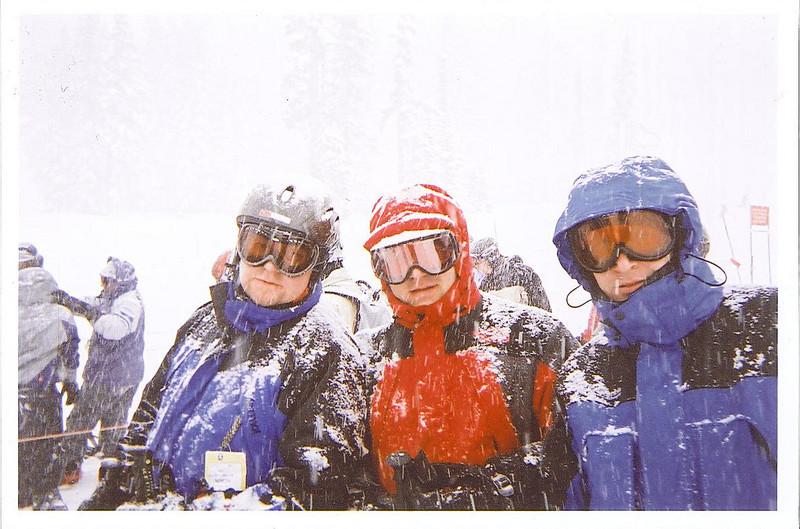 Rob, Jeff and Chris Mt Hood 1