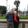 Melissa and I in istanbul - 2010