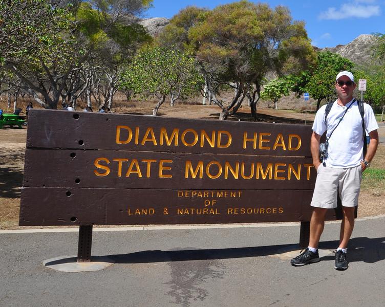 Rob Diamond Head sign