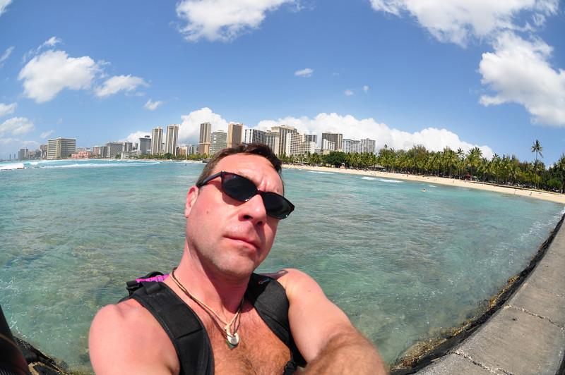 Waikiki Beach Oahu Hi