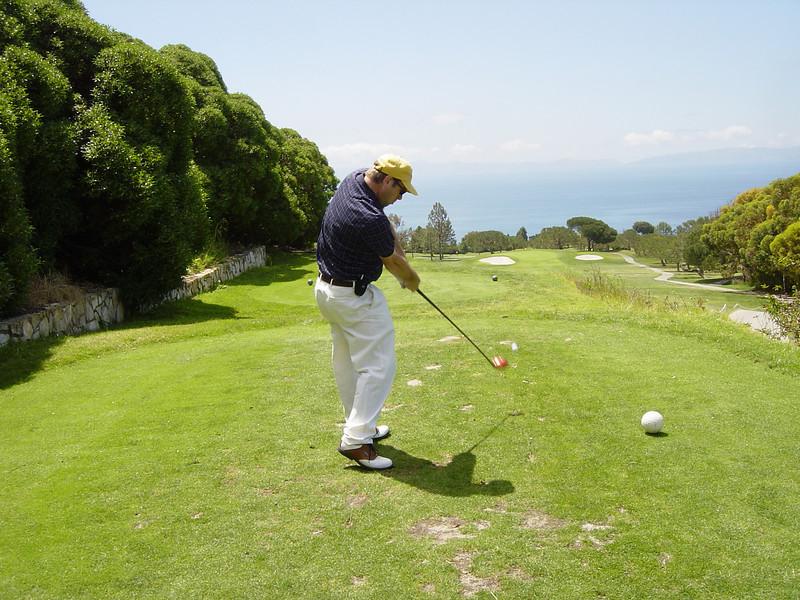 Rob Golf Pac Palisades good form