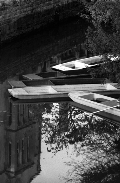 Next to Magdalene College, Oxford, UK. 1989