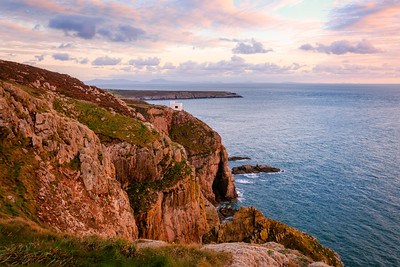 RSPB White Castle at South Stack, Holyhead, Anglesey, Wales