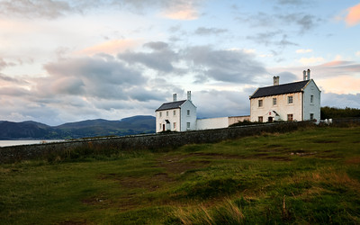 Coastguard Cottages, Penmon Point, Anglesey, Wales