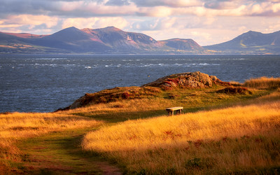 Llanddwyn Island, Newborough Warren, Anglesey, Wales
