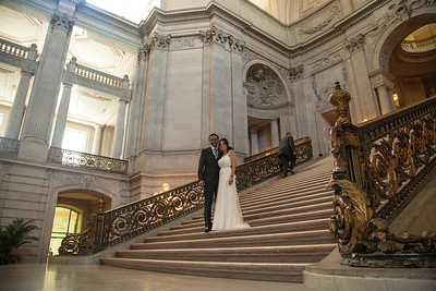 Mito's San Francisco City Hall wedding