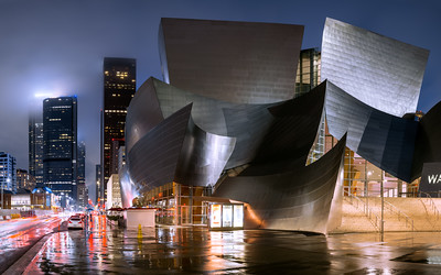 Walt Disney Concert Hall, Los Angeles, California, America