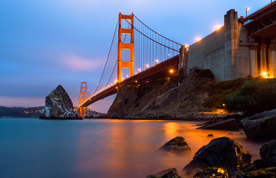 Golden Gate Bridge, San Francisco, California, America