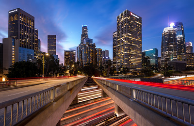 Highways, Los Angeles, California, America
