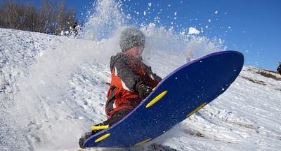 Fischer sledding 2009