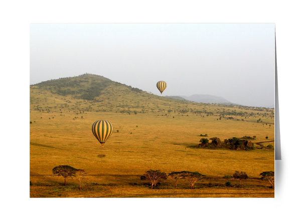 BALLOONING OVER THE SERENGETI