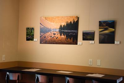 Photo hanging, Albuquerque, New Mexico