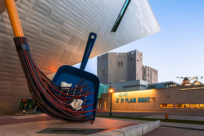 Dustpan and Brush, Denver Art Museum, Colorado, America