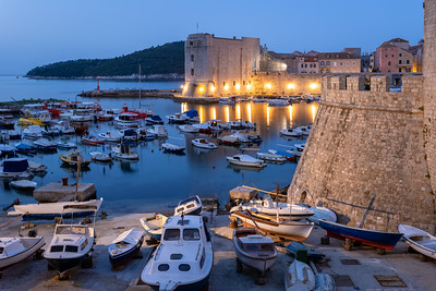 Early Morning, Fort St Ivana, Old Port, Dubrovnik, Croatia