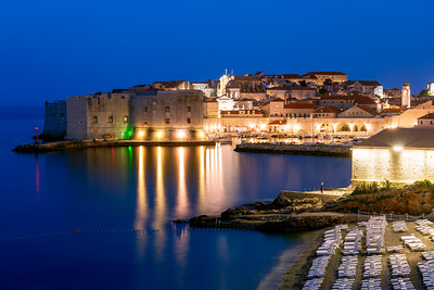 Early Morning, Old Port, Dubrovnik, Croatia