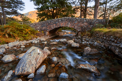 Old Bridge, Wasdale Head, Lake District, Cumbria, England