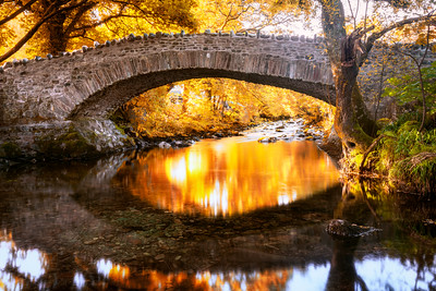 Bridge, Stair, Lake District, Cumbria, England