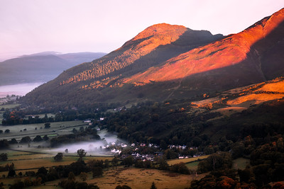 Sunrise, Skiddaw, Lake District, Cumbria, England