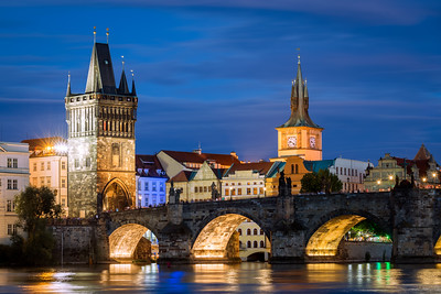 Old Town Bridge Tower, Staroměstská vodárna, Charles Bridge, Prague, Czechia
