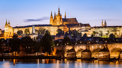 St. Vitus Cathedral-Katedrála Sv. Víta, Charles Bridge, Prague, Czechia
